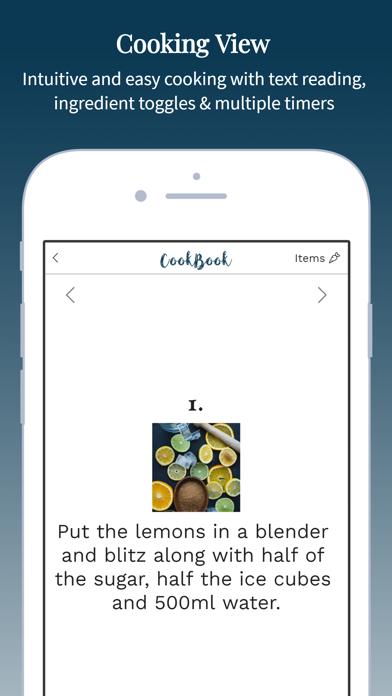 CookBook - The Recipe Manager Screenshot