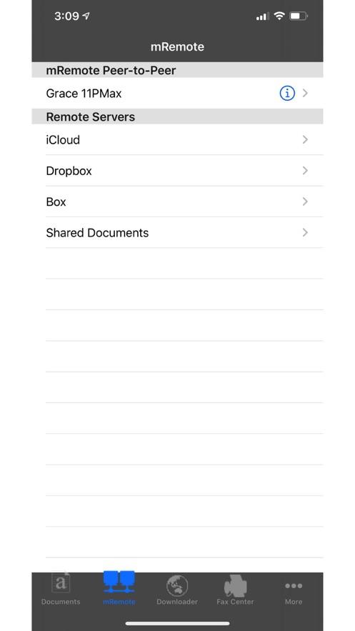 Document Manager + BizTools App 截图