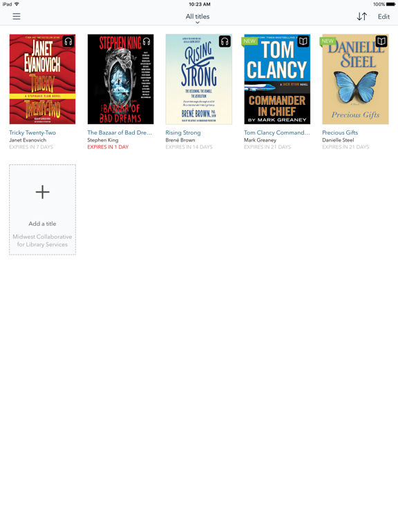 OverDrive – Library eBooks and Audiobooks screenshot