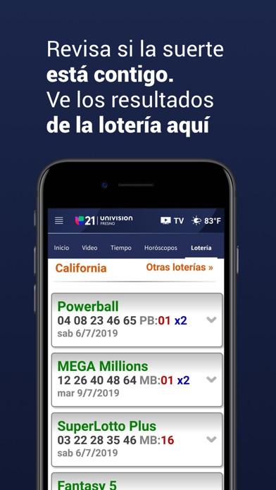 Univision 21 Fresno screenshot 6