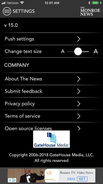 Monroe News screenshot-9