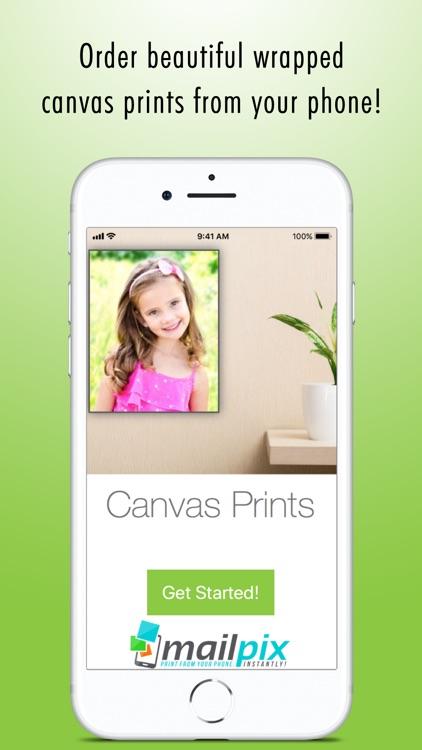 Canvas Photo Prints screenshot-0