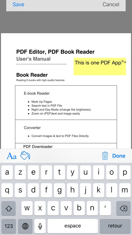 PDF Editor ,PDF Book Reader screenshot-4