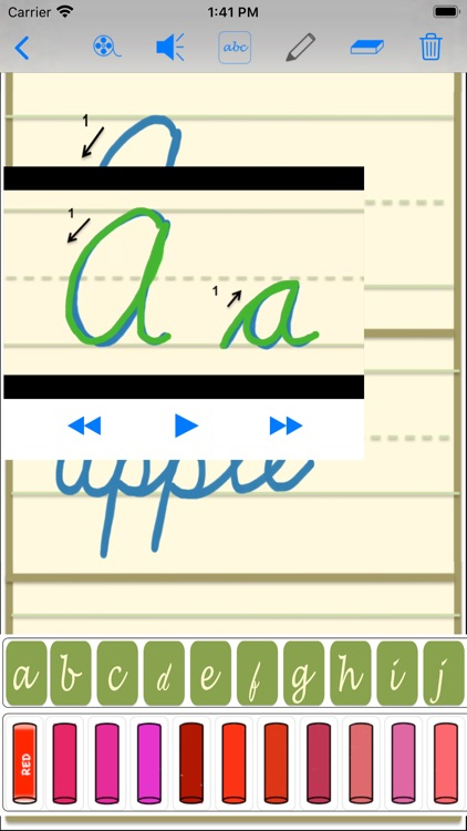 cursive screenshot-6