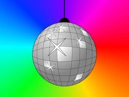 Disco & Party Sticker
