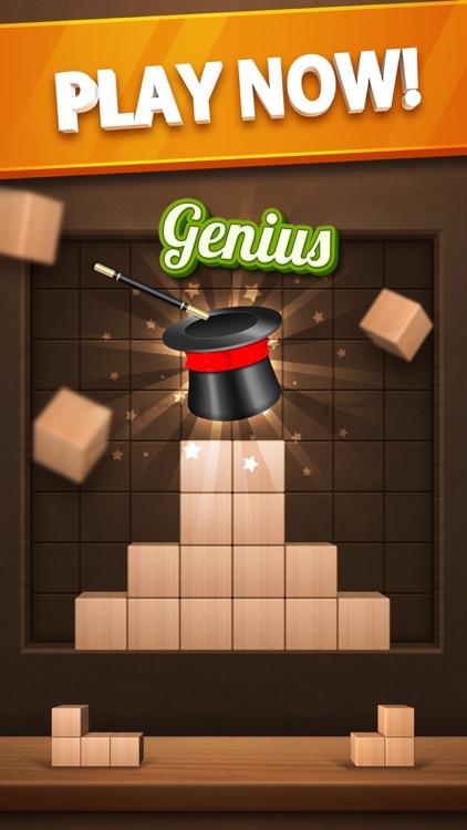 Wood Puzzle 3D Cube Block screenshot-4