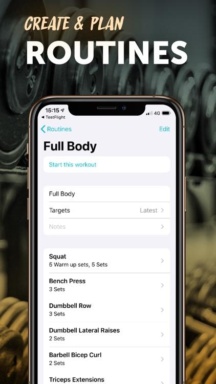 RepCount - Workout Log screenshot-7