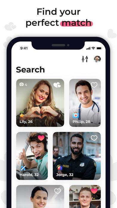 Uniform Dating - Chat & Love Screenshot