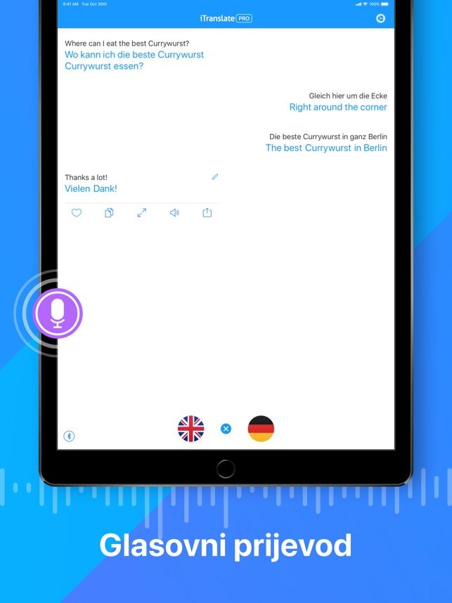 Itranslate Prevoditelj Na Usluzi App Store