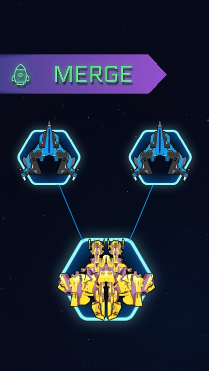 War Merge: Spaceship Defense