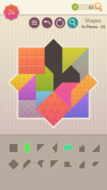 Polygrams - Tangram Puzzles screenshot-4