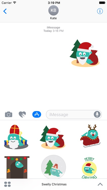 Swelly Christmas - Stickers