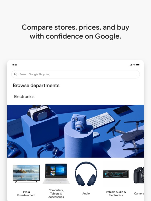 Google Shopping - Shop easier-ipad-1