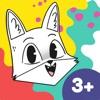 Coloring Fun with Fox & Sheep - iPadアプリ