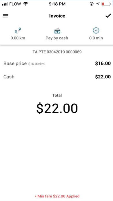 PayCab screenshot four