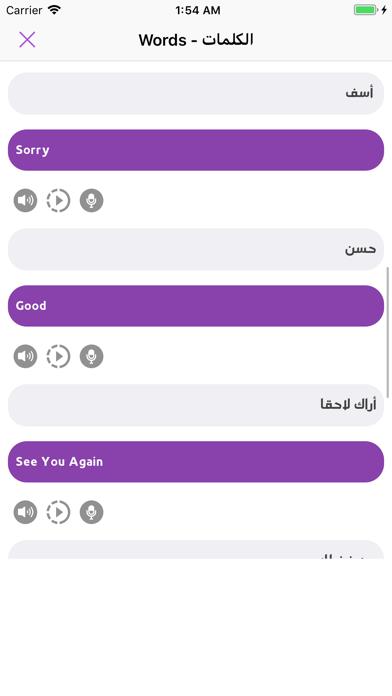 تكلم الانجليزية تعلم النطق screenshot 7