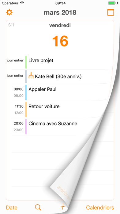 Screenshot #1 pour Page Calendar
