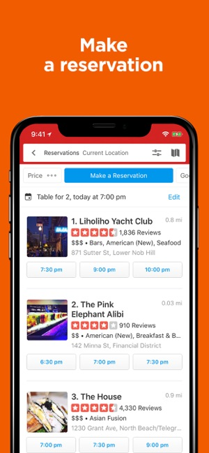 Yelp-Food & Services Around Me on the App Store