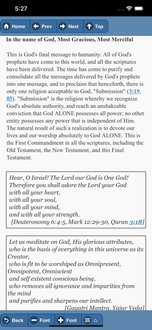 QURAN: THE FINAL TESTAMENT on the App Store