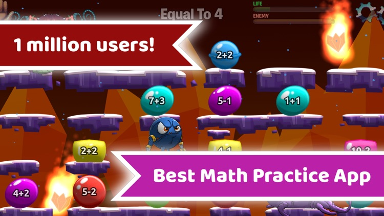 Monster Math - Games For Kids screenshot-0