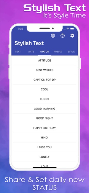 Stylish & Fancy Text on the App Store