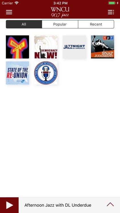 WNCU Public Radio App screenshot-4