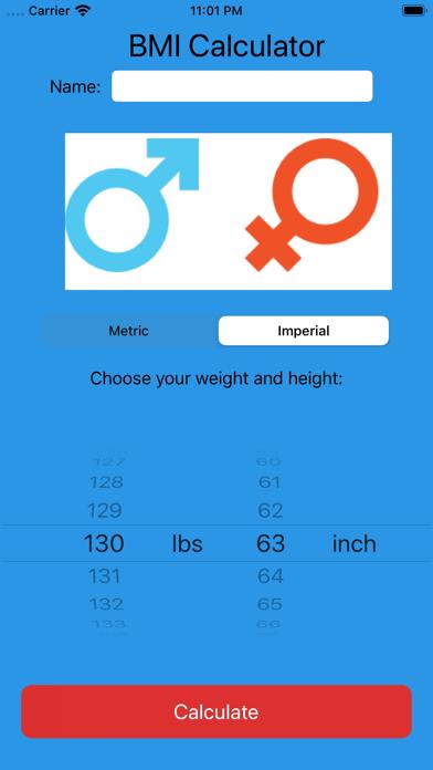 BMI Calculator Pro.