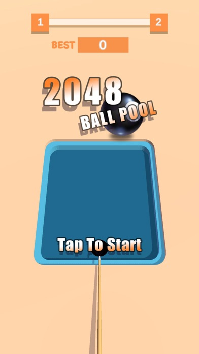 2048 Pool 3D screenshot 1
