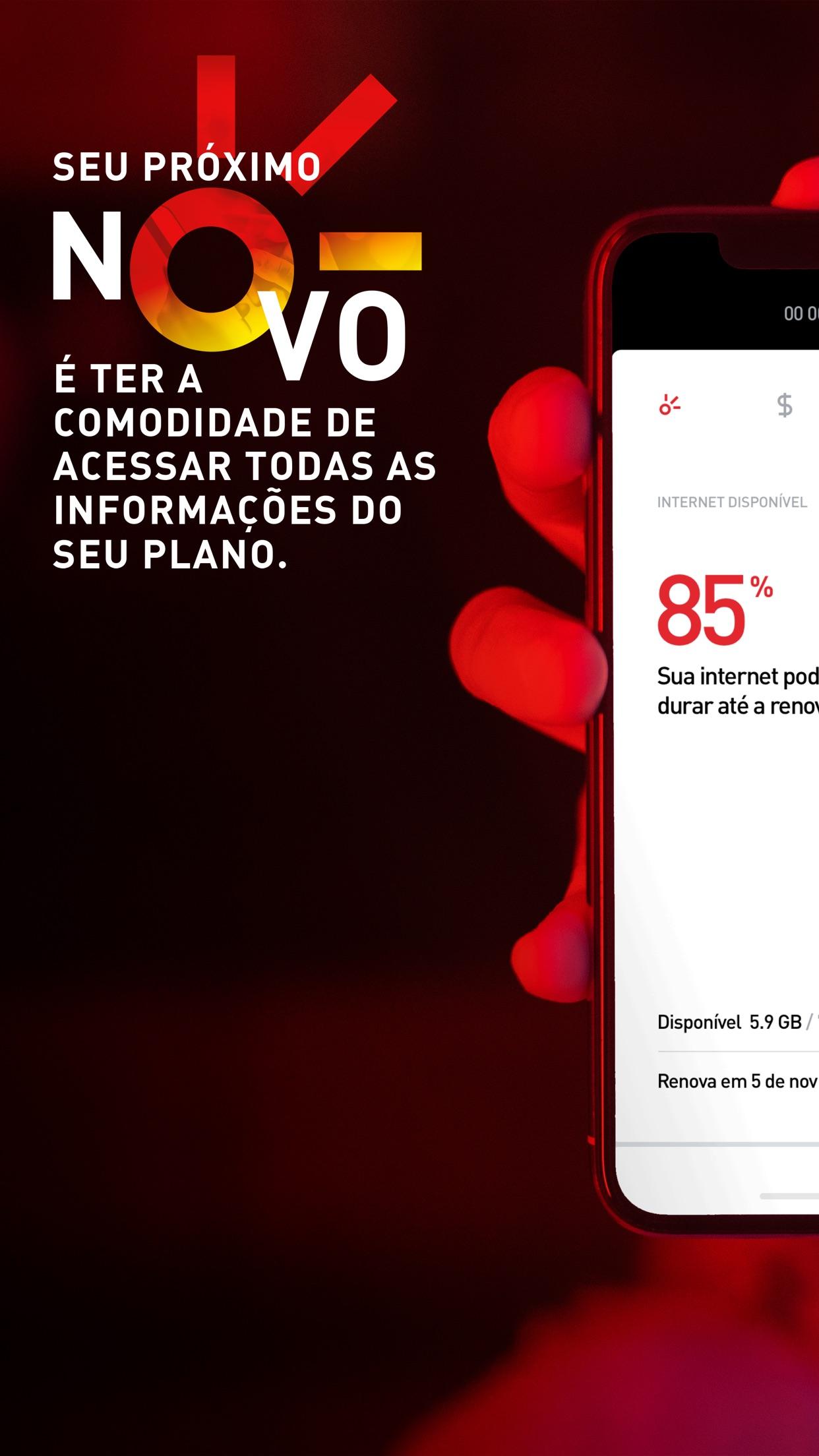 Screenshot do app Novo Minha Claro móvel
