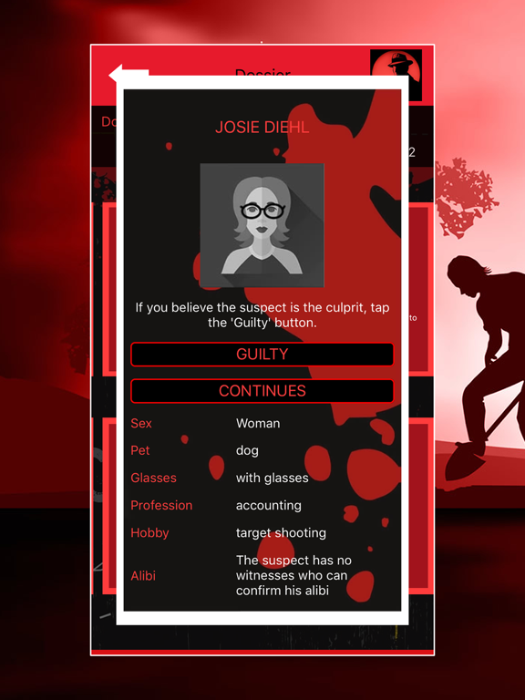 Crime Scene Detective CrimeBot screenshot 10