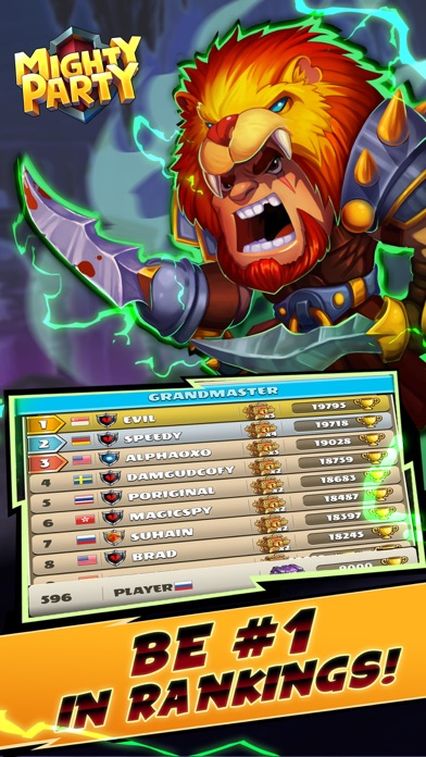 Mighty Party: Battle Heroes screenshot 5