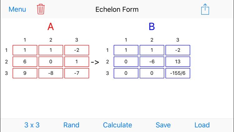 MatrixAlgebra screenshot-4