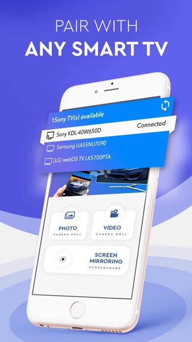 TV Cast & Screen Mirroring App Screenshot