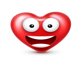 The HeartsSmileysNTT is a small sticker, which are show the 49 Hearts Smileys NTT sticker in cartoon
