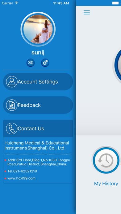 HRV Care screenshot two