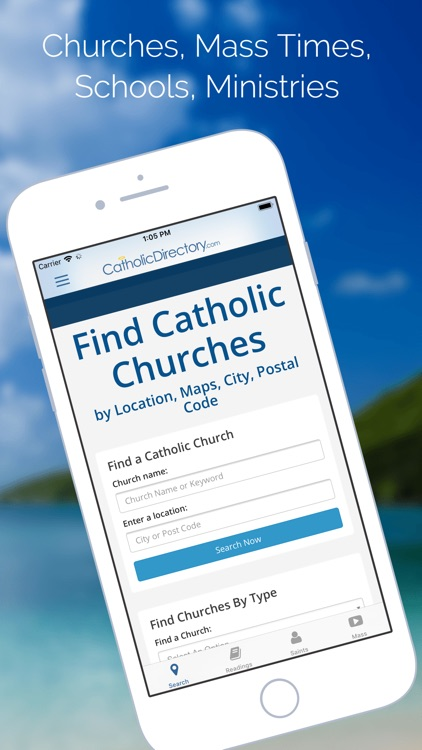 Catholic Mass Church Directory