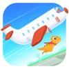 恐龙飞机场 - 世界探索儿童游戏