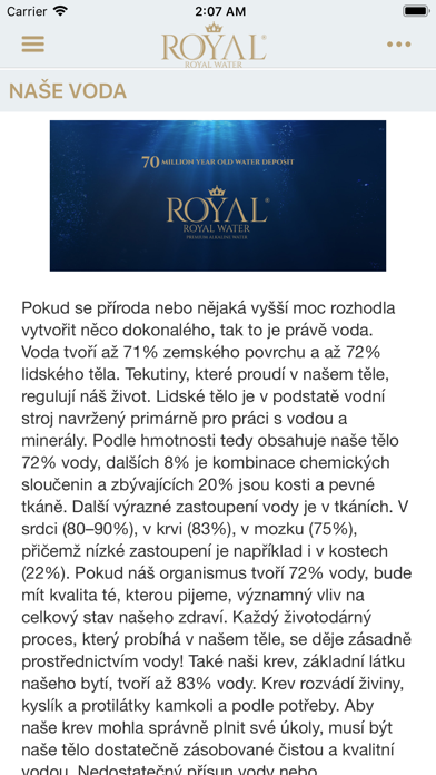 Royal Water screenshot 1