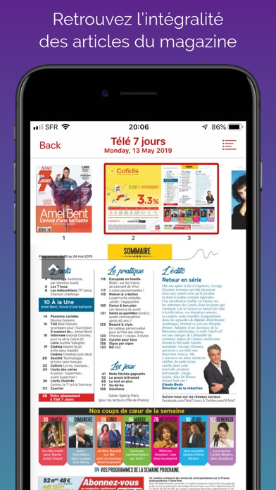 messages.download Télé 7 Jours Magazine software