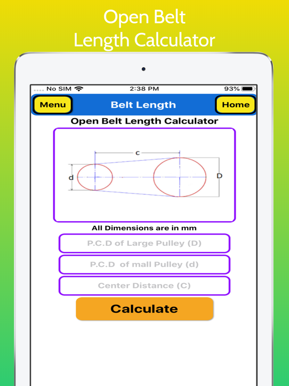 Belt Length Calculator screenshot 10