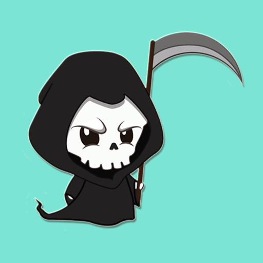 Nightmare Ghost Stickers
