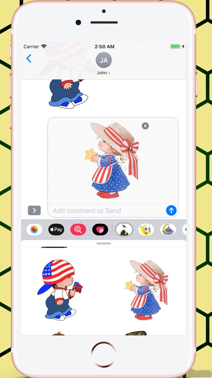Memorial Day HD Stickers screenshot-9