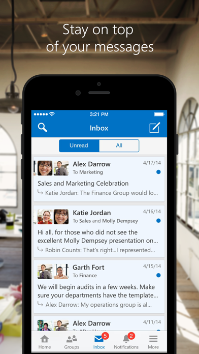 Yammer ScreenShot1