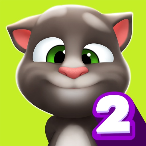 My Talking Tom 2 free software for iPhone and iPad