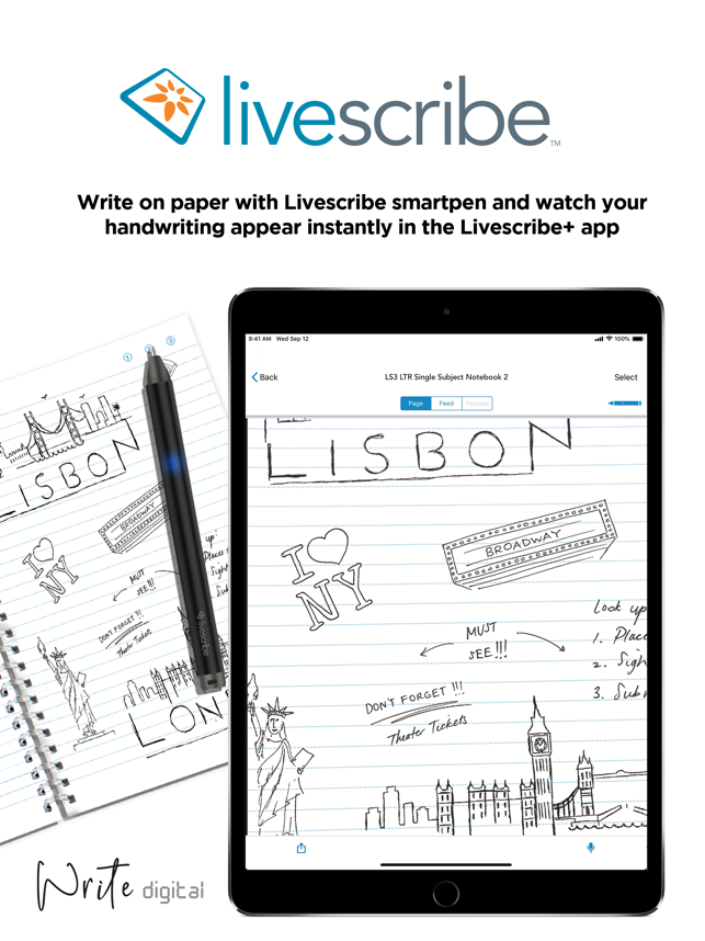‎Livescribe+ Capture d'écran
