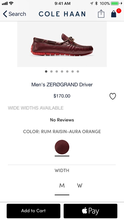Cole Haan Shopping