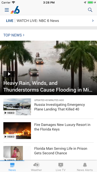 NBC 6 South Florida App Profile  Reviews, Videos and More