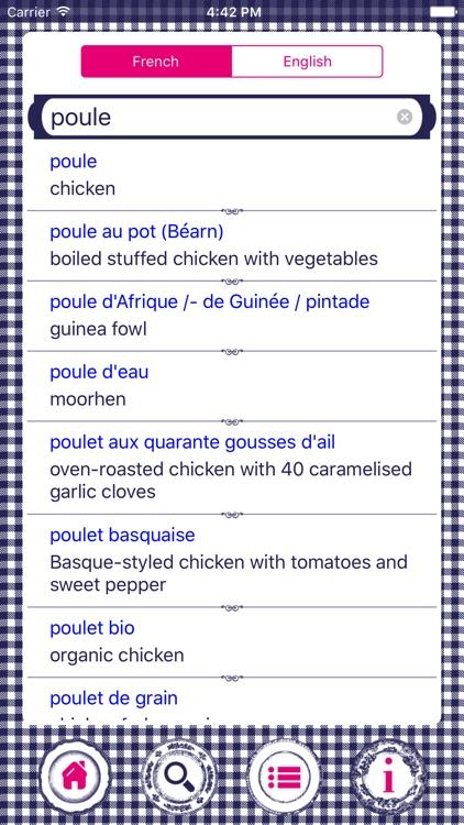 Culinary French A-Z screenshot-4