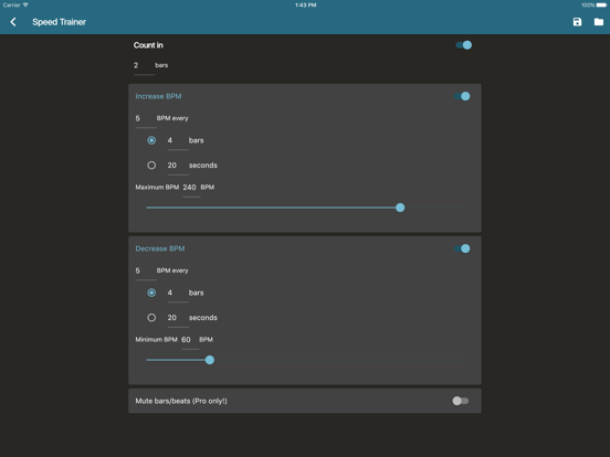 Ipad Screen Shot Metronome Beats 2