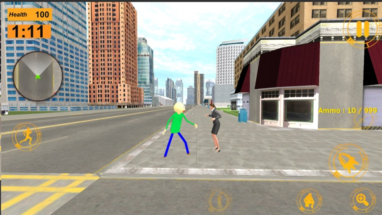 Baldi Stickman Gangstar Vegas screenshot-5